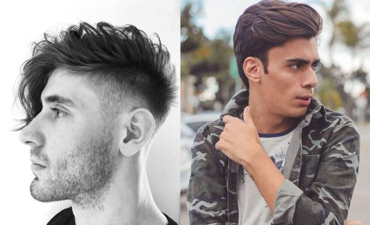 Corte de cabelo masculino com franja 2017
