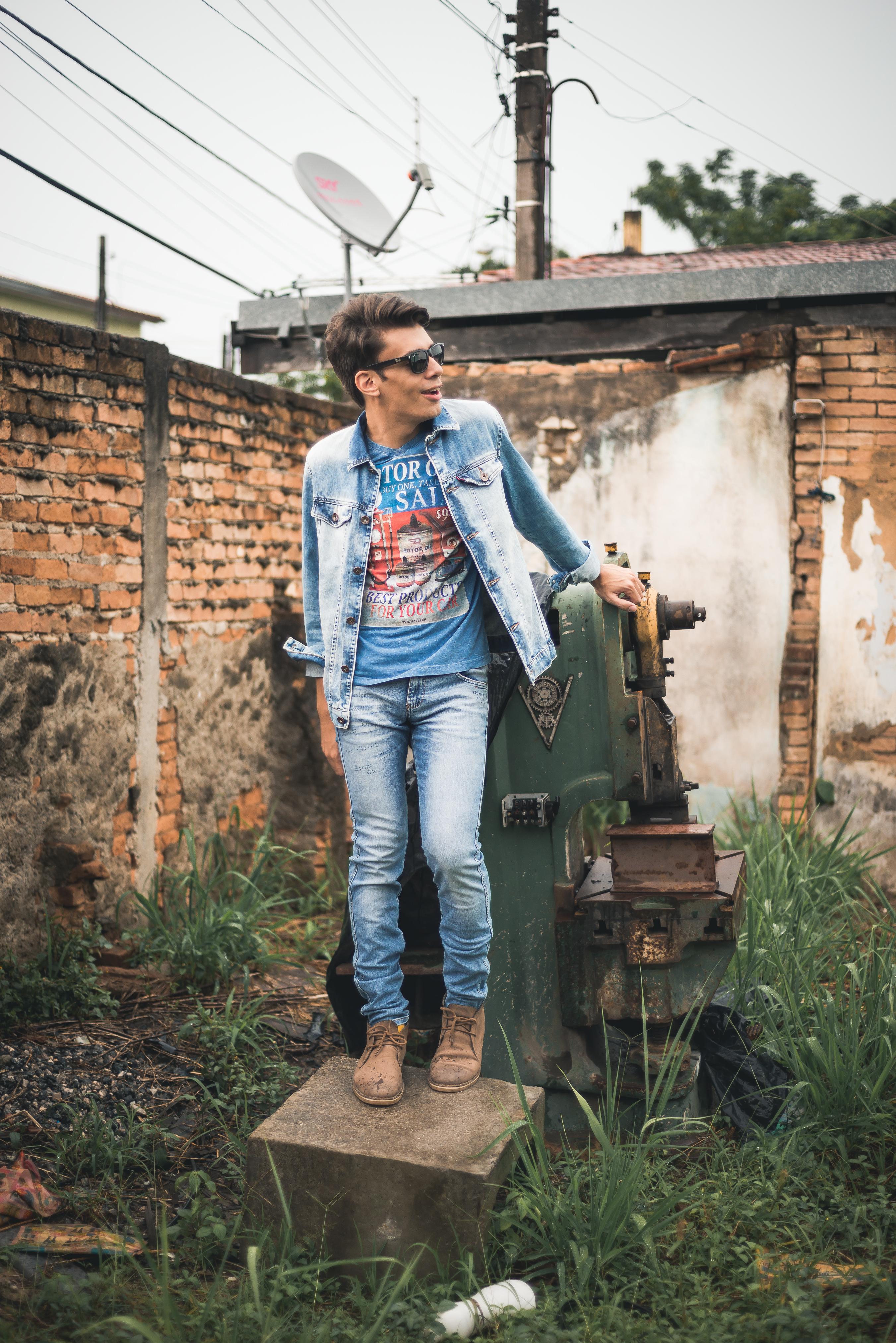 alex cursino, blogueiro de moda, blog de moda masculina, digital influencer, canal de moda, jaqueta jeans, calça jeans, damyller, mens, menswear, style, (2)
