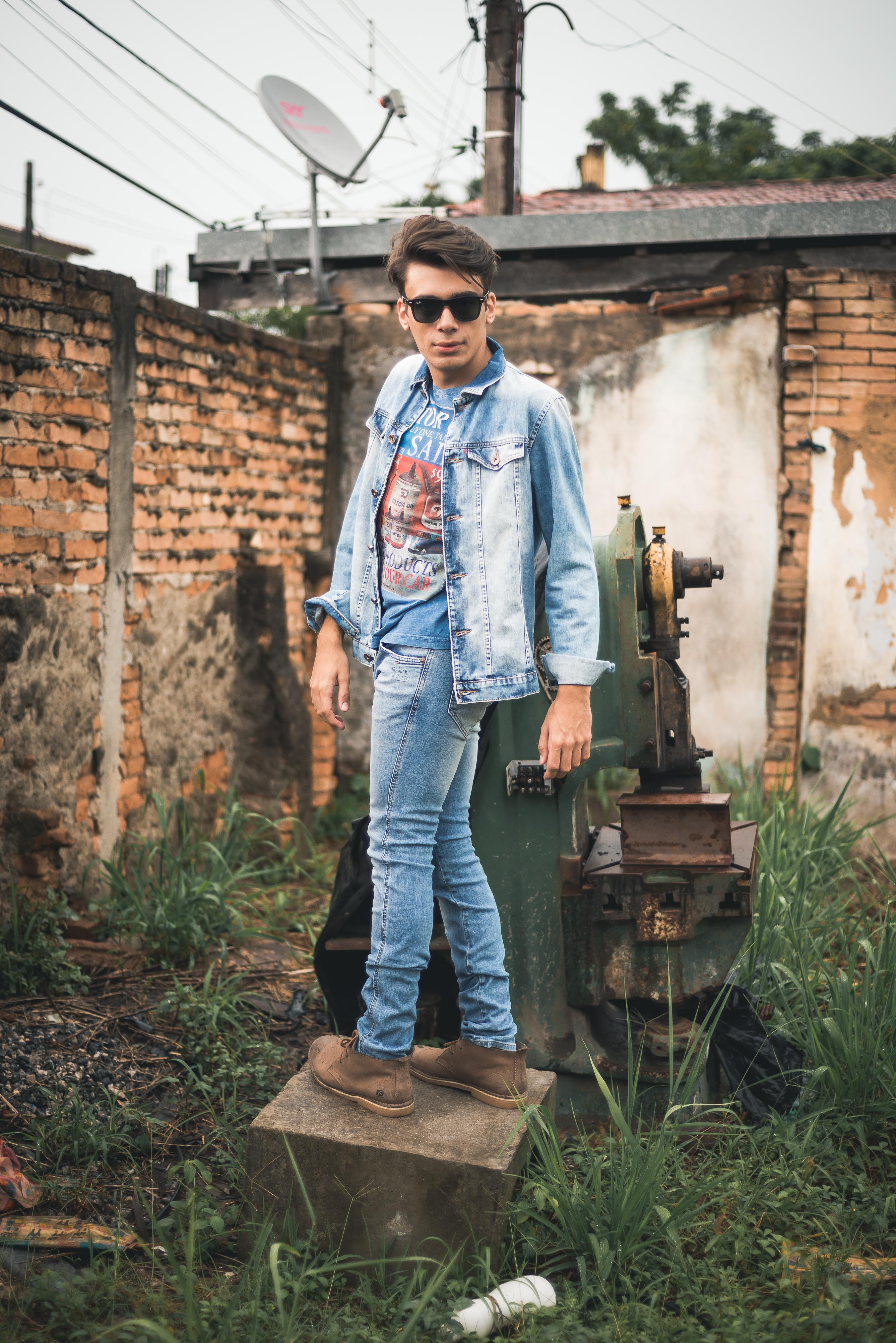 alex cursino, blogueiro de moda, blog de moda masculina, digital influencer, canal de moda, jaqueta jeans, calça jeans, damyller, mens, menswear, style, (4)