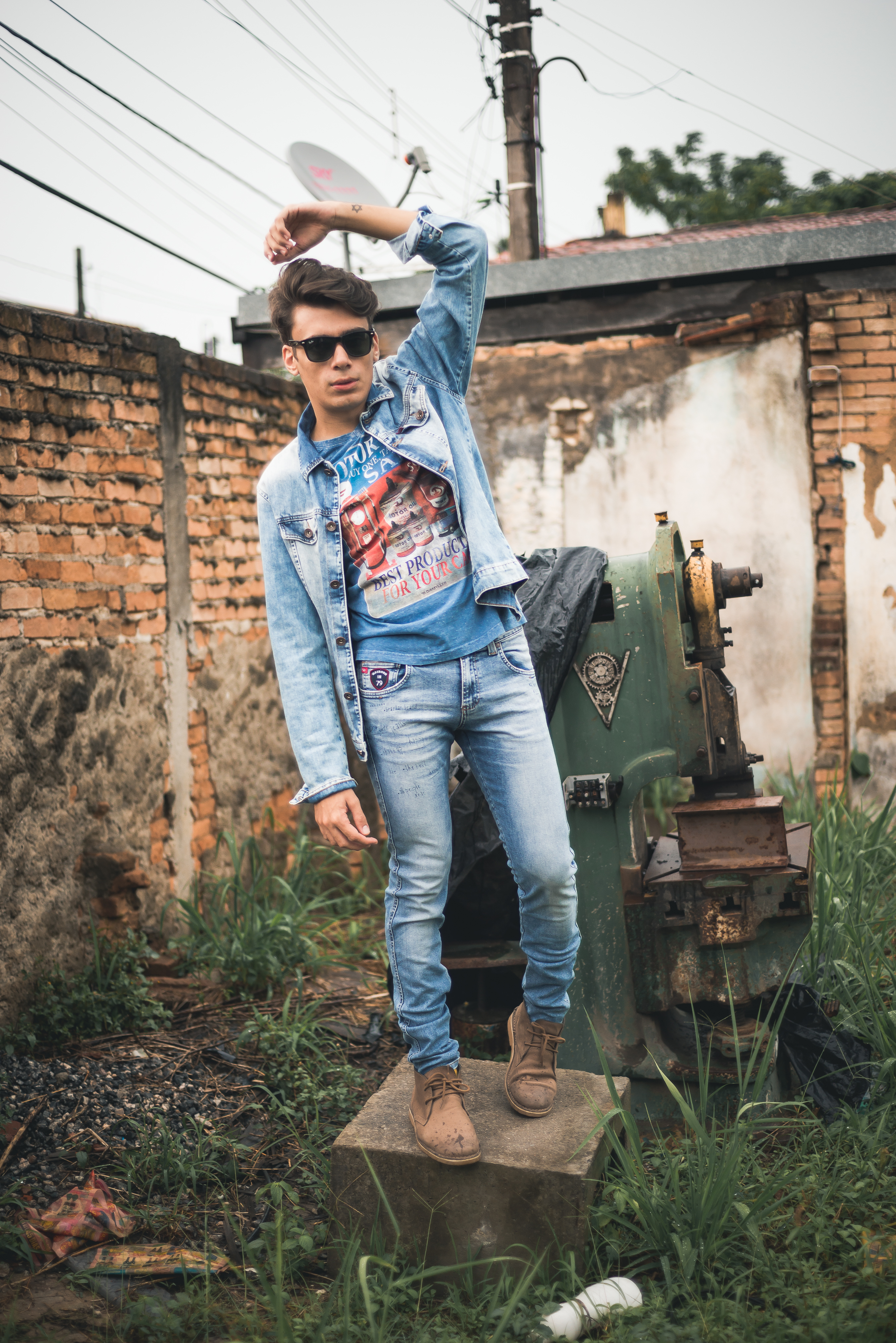 alex cursino, blogueiro de moda, blog de moda masculina, digital influencer, canal de moda, jaqueta jeans, calça jeans, damyller, mens, menswear, style, (6)