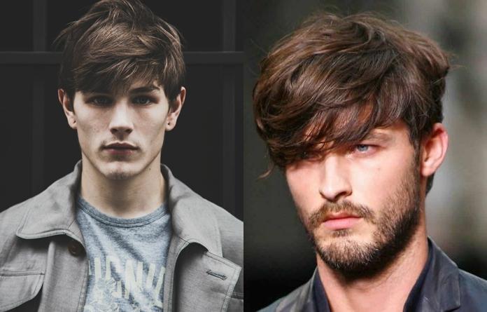 Como fazer cabelo masculino com franja longa