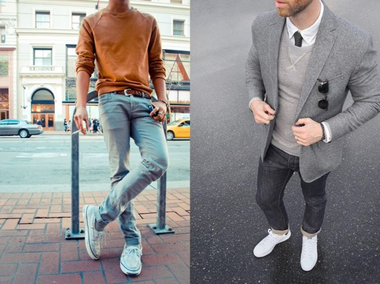 Como usar tênis branco masculino no Inverno 2017