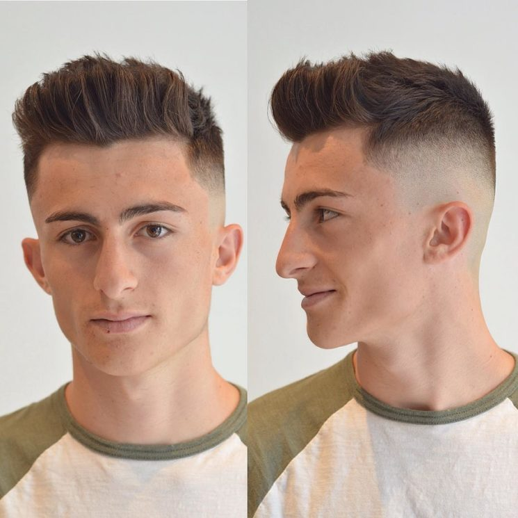 Os cortes de cabelo masculino populares 2017
