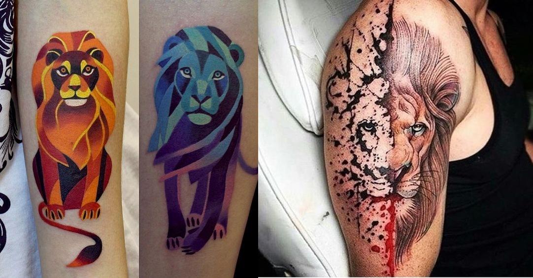 tatuagem de leão, desenho leão, tatuagem potilhada, tatuagem aquarela, alex cursino, inspirações, como fazer, grooming, blog de moda masculina, menswear, dicas de moda para homens (20)-horz