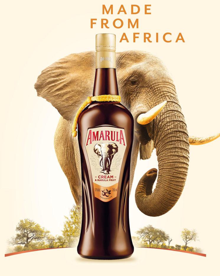 Amarula mostra sua nova garrafa e posicionamento