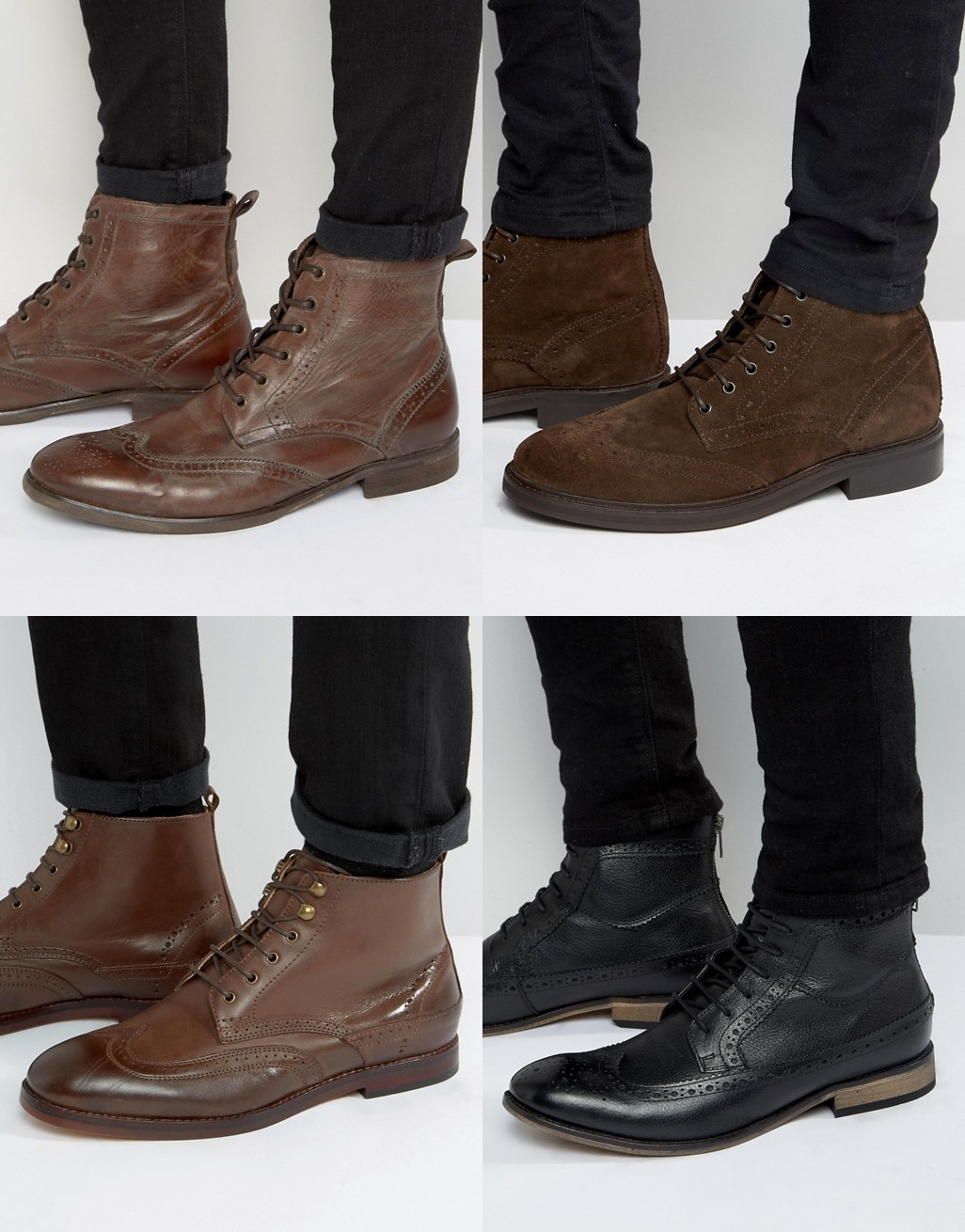 bota masculina 2017, bota para homens, modelo de bota, bota brogue, brogue boot, blog de moda masculina, moda sem censura, alex cursino, dicas de estilo masculino