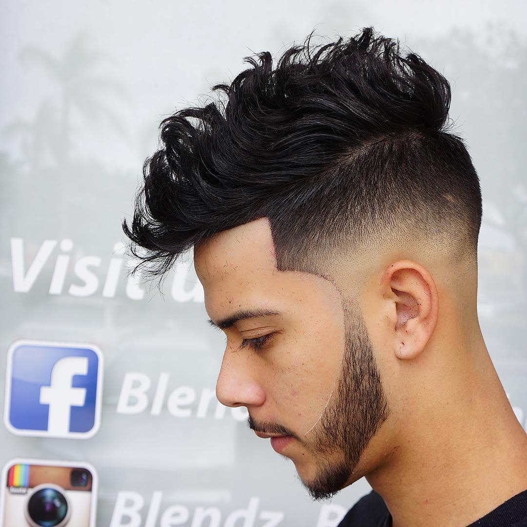 corte de cabelo masculino 2017 cabelo grosso
