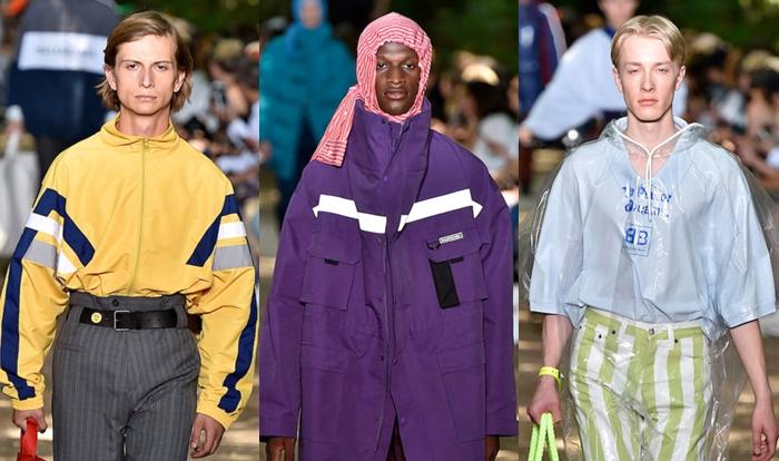 Paris: Balenciaga Verão 2018 masculino