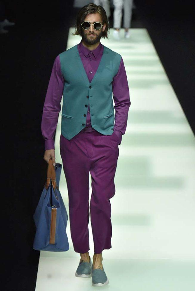 Giorgio Armani Milan Menswear Spring Summer 2018, semana ...