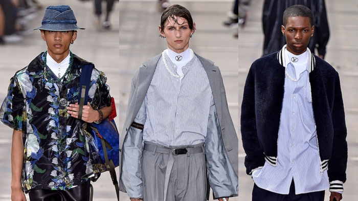 Paris: LOUIS VUITTON Verão 2018 masculino