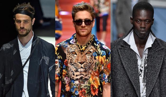 Tendências verão 2018 masculino segundo Milão
