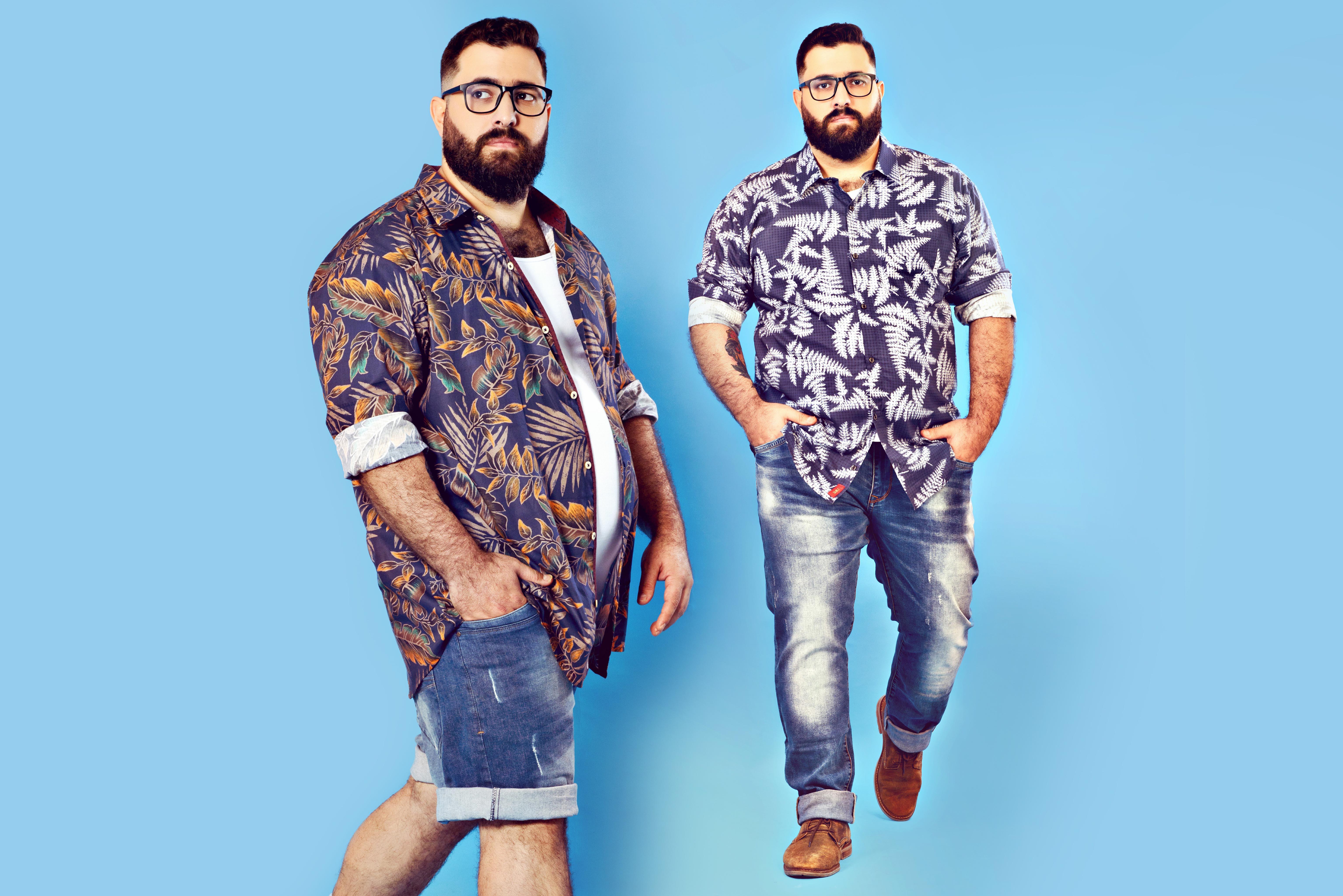 f0bd2471533785 Conheça 4 modelos plus size masculino brasileiros - MODA SEM CENSURA ...