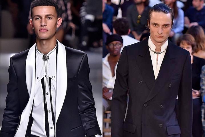 Tendência masculina: colar por cima da camisa social