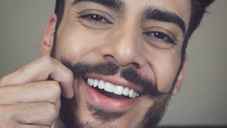 Como fazer bigode rápido e fácil