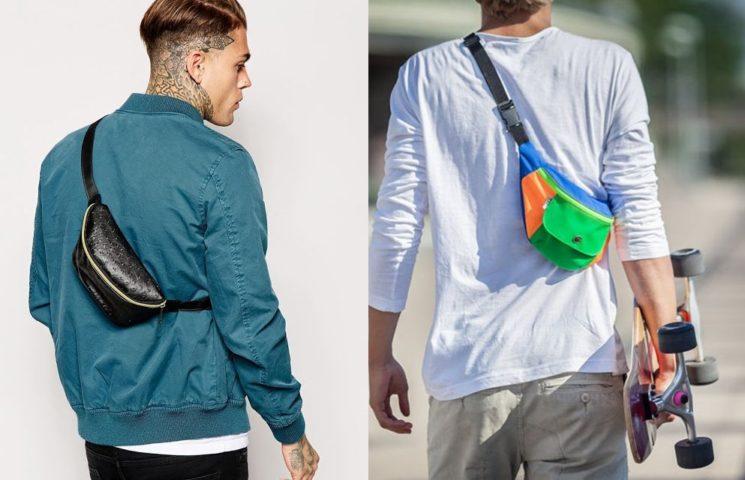 Tendência masculina: a pochete masculina voltou