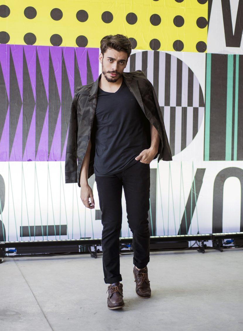 Outfit do dia #22: blazer masculino com estampa militar