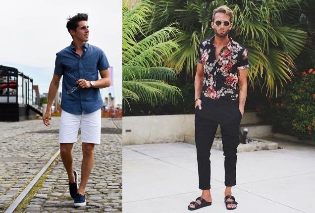 9e02f2f42 A camisa de manga curta masculina também é um modelo que se encaixa bem no  estilo masculino
