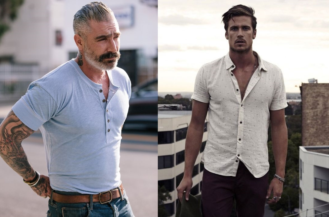 e43be2f7f A camisa masculina não é mais um item exclusivo do estilo social masculino