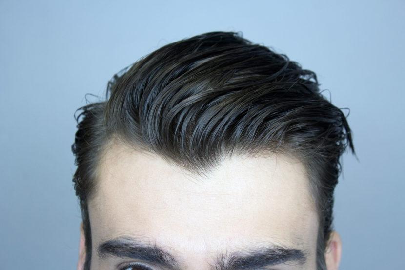 Como fazer cabelo masculino com efeito molhado