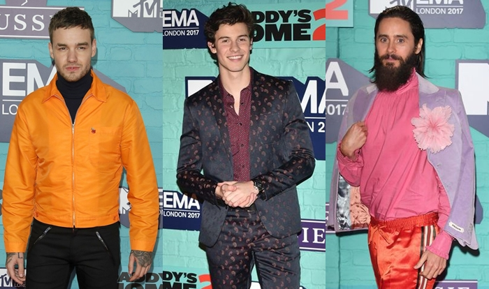 Os looks masculinos do MTV EMAs 2017