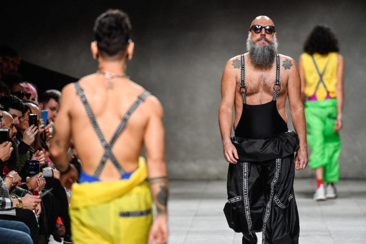Casa de Criadores: Felipe Fanaia Inverno 2018 masculino