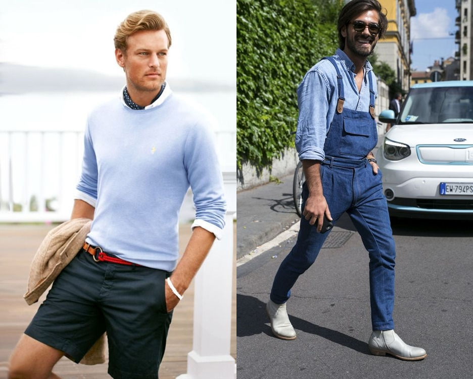 bf1c2d70b O azul é uma cor fácil de ser aceita e também encaixada no guarda-roupas  masculino