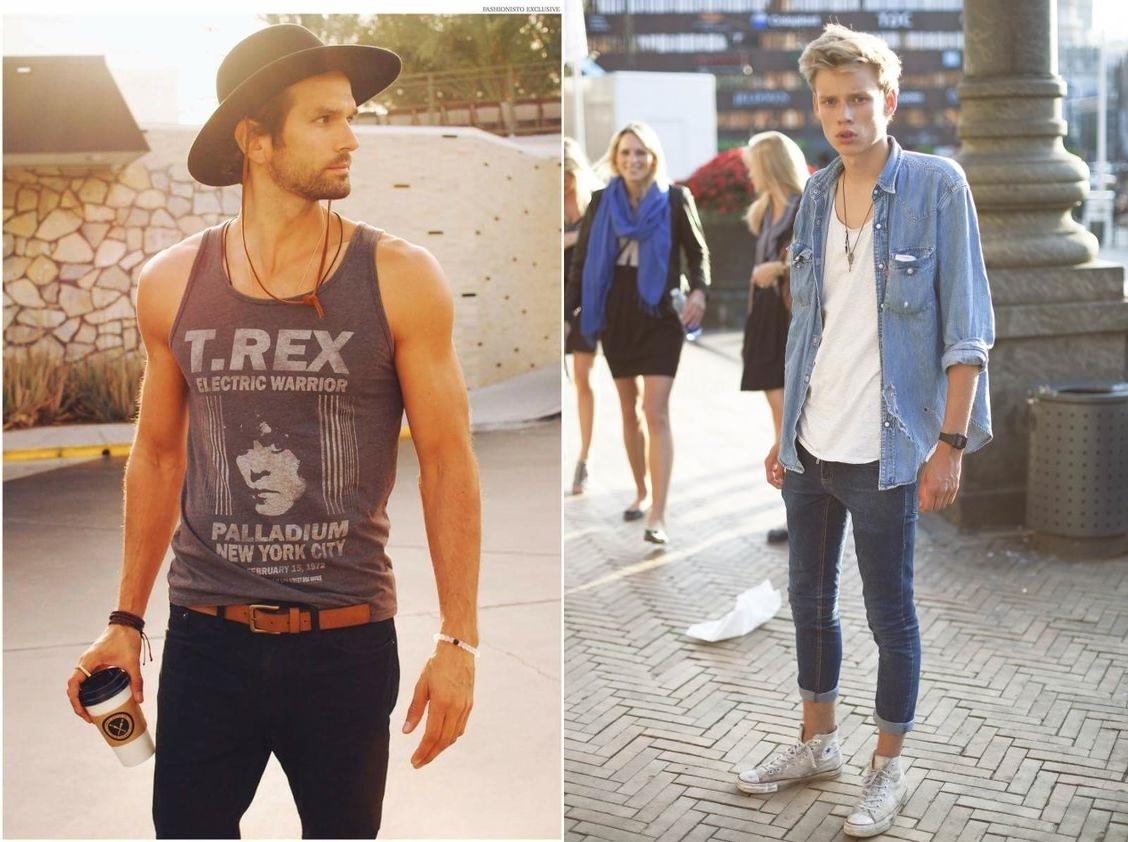 22 maneiras de como usar camiseta regata masculina - MODA SEM ... 5a71b0beeff