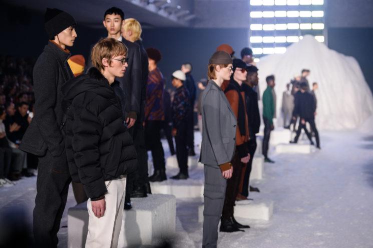 Milão: Ermenegildo Zegna Inverno 2018 masculino