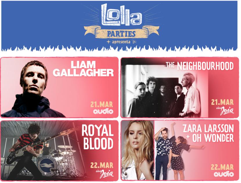 Confira todas as novidades do Lollapalooza Brasil 2018