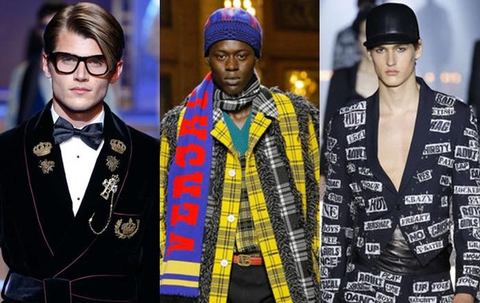 As tendências masculinas Inverno 2018 segundo Milão