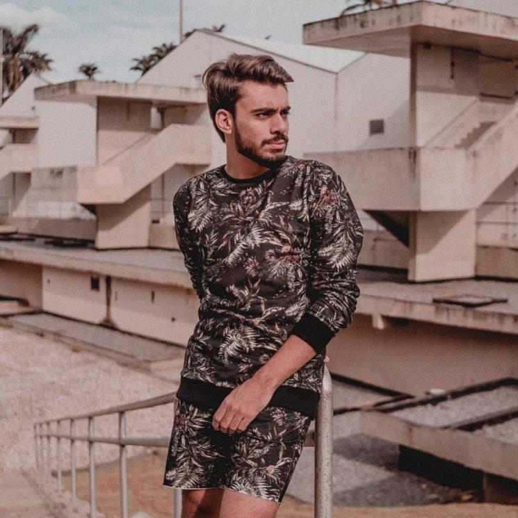 Estampas masculinas 2018: uniformizar look masculino está em alta
