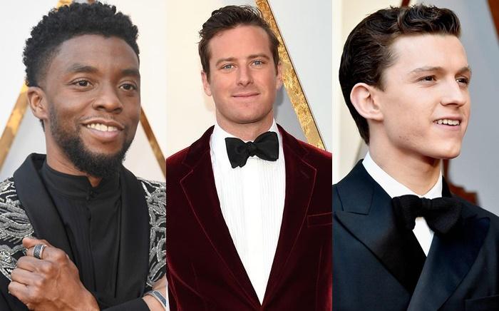 Os 9 melhores looks masculinos do Oscar 2018