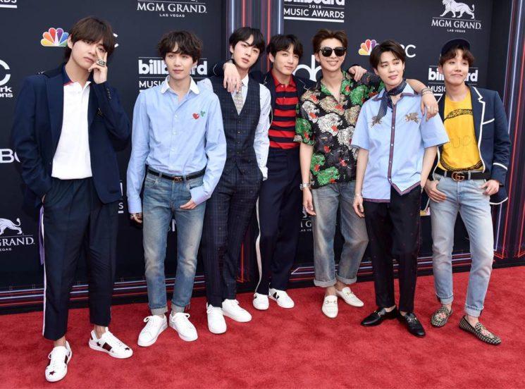 Os looks masculinos Billboard Music Awards 2018