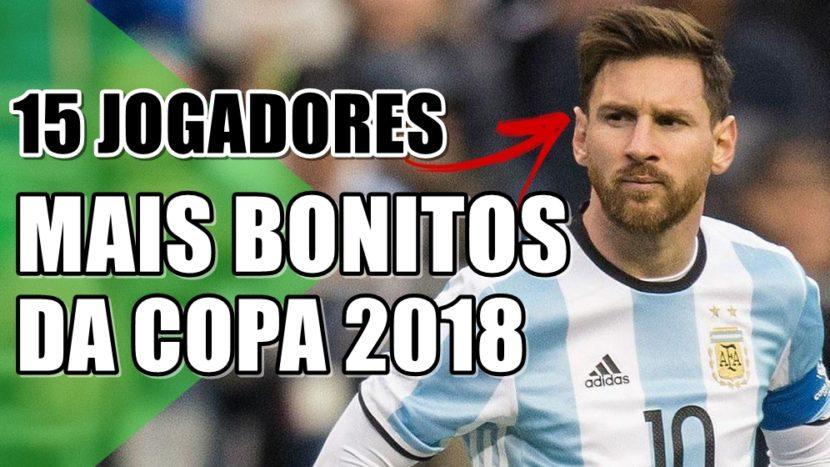 15 jogadores de futebol mais bonitos da Copa do Mundo 2018