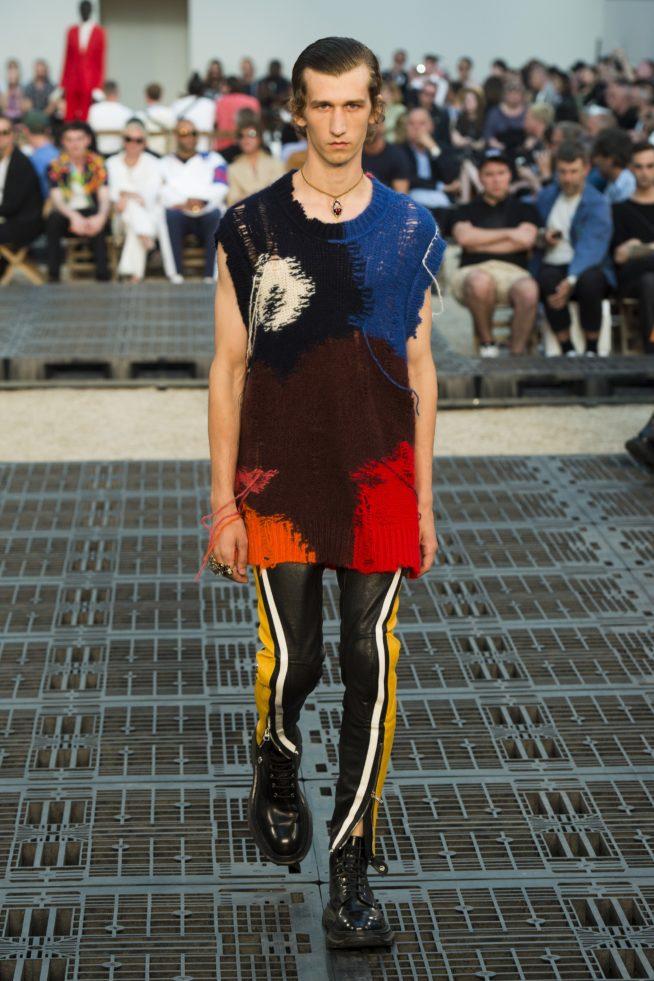 Paris: Alexander McQueen verão 2019 masculino