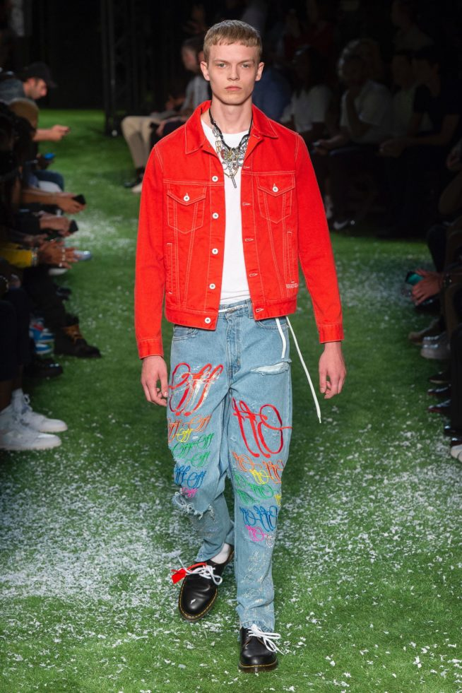 Paris: Off-White Verão 2019 masculino