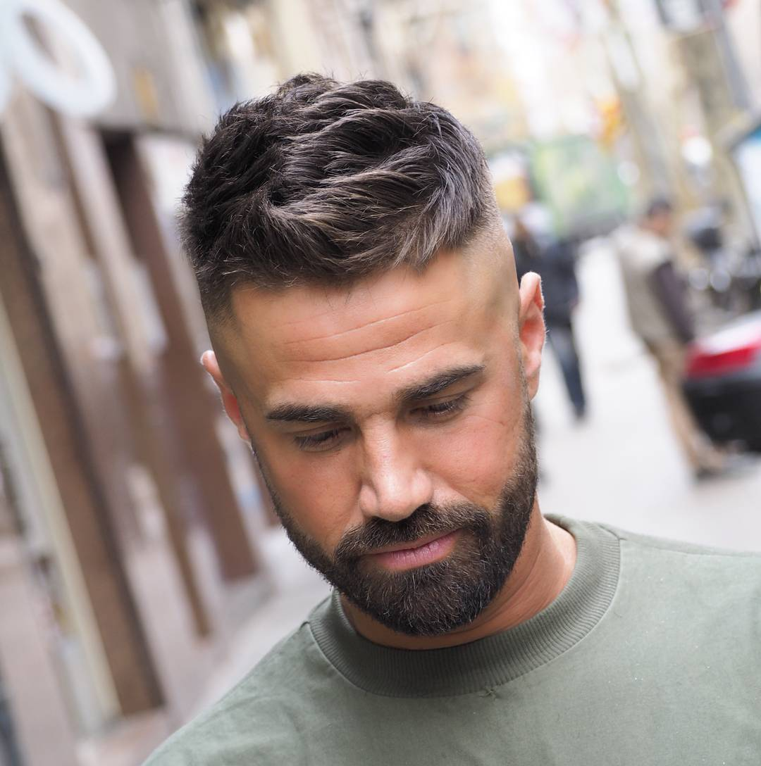 25 Popular Haircuts For Men 2018: Os Cortes Masculinos Inverno 2018