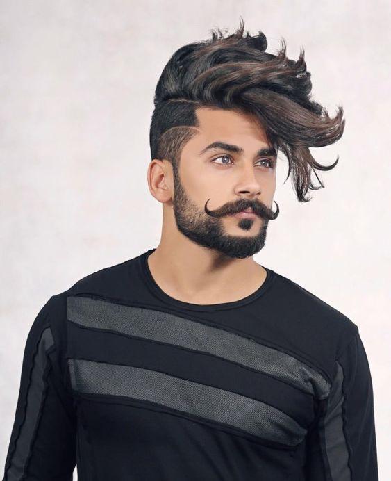 Diferentes tipos de bigodes para se inspirar