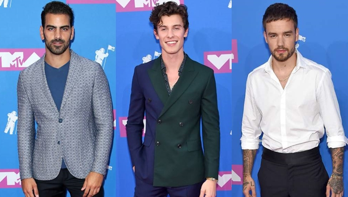 Os looks masculinos do VMA 2018