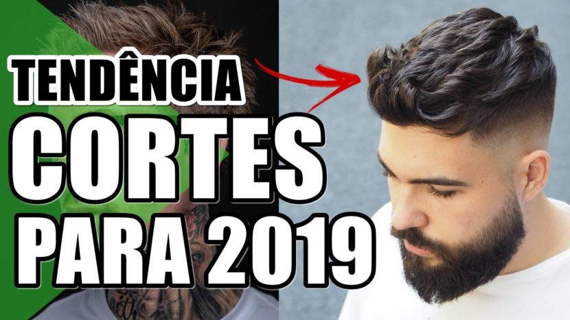 Cortes de cabelo masculino para 2019