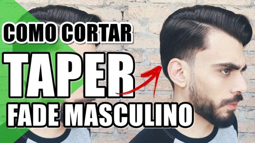Taper Fade: tendência de corte de cabelo 2019 masculino