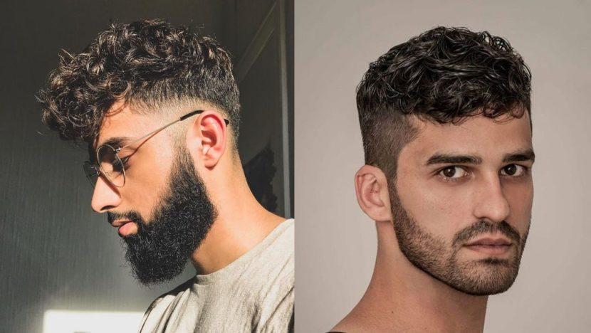 27 Cortes de cabelo masculino enrolado 2019