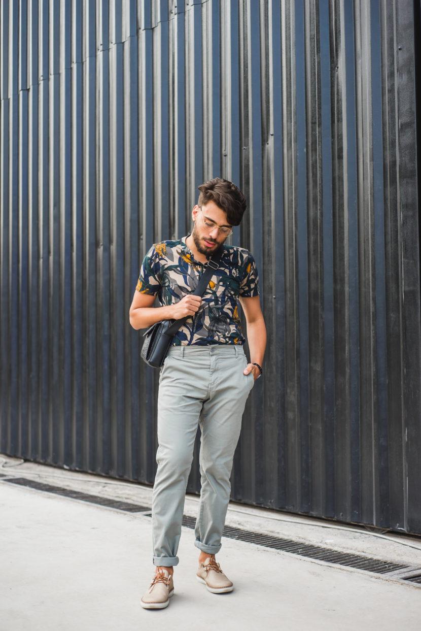 Outfit do dia #35: Look casual masculino para o terceiro dia da SPFW