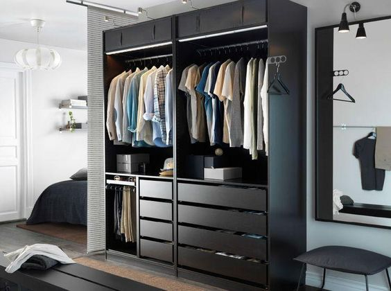 Tour pelo meu closet e quarto