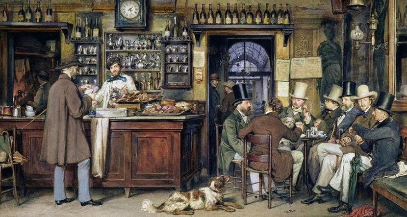 Os históricos cafés da Itália
