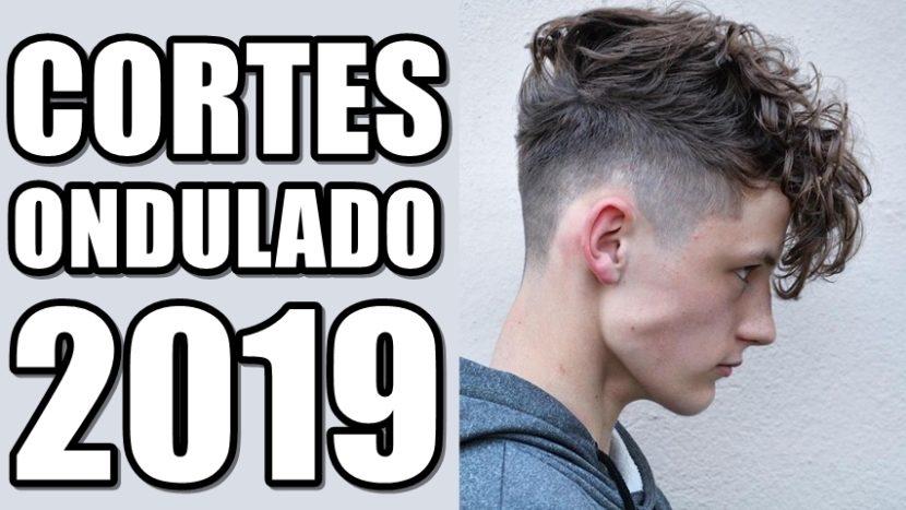 Cortes de cabelo masculino ondulado para 2019