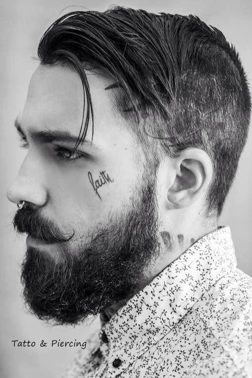 Para se inspirar: 27 tatuagens no rosto masculino