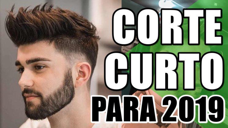 Corte de cabelo masculino curto para 2019