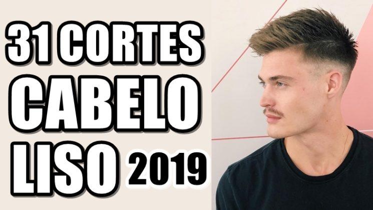 31 cortes de cabelo masculino liso 2019