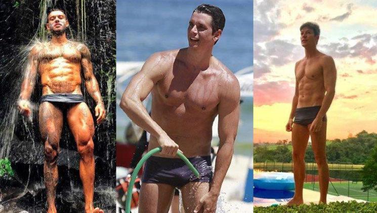O tipo de sunga de praia que os famosos estão usando